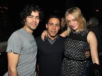 Adrian Grenier, Victor Rasuk and Chloe Sevigny at the after party of the screening of