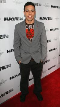 Victor Rasuk at the premiere of