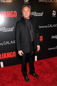 Don Johnson at the New York premiere of