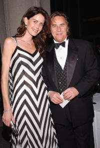 Don Johnson and his wife Kelly at the New York City Ballet Gala.