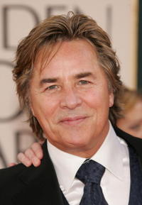 Don Johnson at the 63rd Annual Golden Globe Awards.