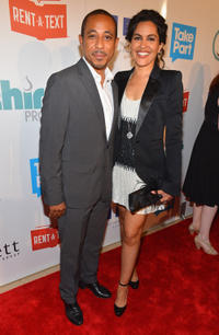 Dale Godboldo and Guest at the Thirst Project 3rd Annual Gala in California.