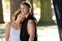 Alexa Davalos and Toby Hemingway in