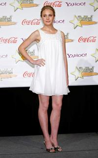 Leah Pipes at the ShoWest 2009 Awards Ceremony.