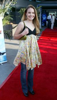 Leah Pipes at the Los Angeles premiere of