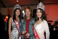Tram Ho, Leonardo Nam and Angeline Wu at the ImaginAsian TV Party during the AFI Fest.