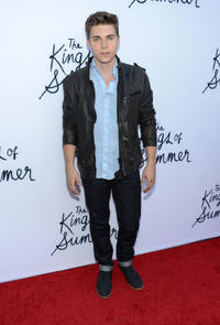 Nolan Funk at the California premiere of