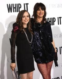 Ellen Page and Juliette Lewis at the premiere of