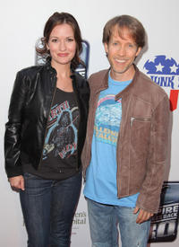 Cat Taber and James Arnold Taylor at the St. Jude's 30th anniversary premiere of