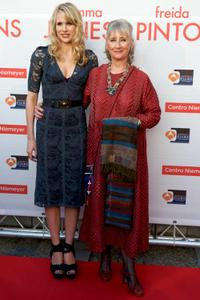 Lucy Punch and Gemma Jones at the premiere of