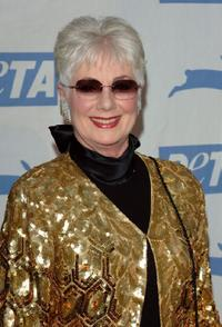 Shirley Jones at PETA's 15th Anniversary Gala and Humanitarian Awards.