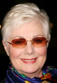 Shirley Jones at the California screening of
