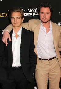Taylor Handley and Heath Freeman at the California premiere of