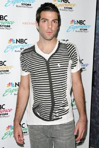 Zachary Quinto at the NBC Universal celebration of the DVD release of