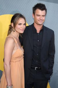 Molly Sims and Josh Duhamel at the NBC All-Star Party during the 2007 Summer Television Critics Association Press Tour.