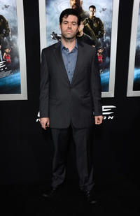 Robert Baker at the California premiere of
