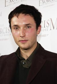 Joshua Close at the premiere of