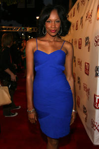 Rachel Hollingsworth at the TV Guide's Sexiest Stars party in California.