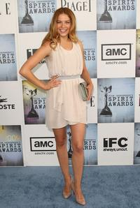 Rachelle Lefevre at the 24th Annual Film Independent's Spirit Awards.