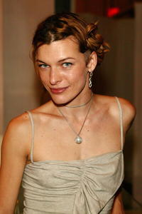 Milla Jovovich at the The Afterparty For The New York Premiere of