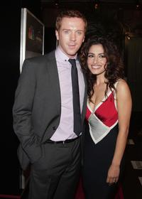 Damian Lewis and Sarah Shahi at the premiere screening of