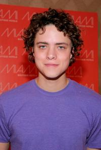 Douglas Smith at the HBO Luxury Lounge during the 66th Annual Golden Globes.