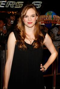Danielle Panabaker at the premiere of
