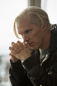 Benedict Cumberbatch as Julian Assange in