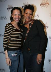 Antonique Smith and B-Flat at the Balance of Opposites Party during the 2007 Sundance Film Festival.