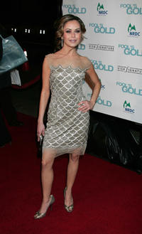 Actress Alexis Dziena at the Hollywood premiere of
