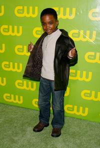 Khamani Griffin at the CW Network Winter TCA Party.