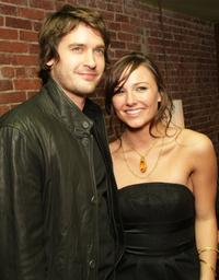 Will Kemp and actress Briana Evigan at the world premiere of
