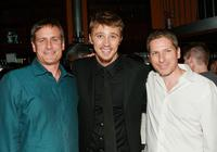 John Hegeman, Garrett Hedlund and Ian Jeffers at the after party of the premiere of