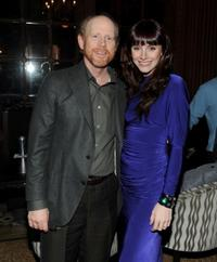 Ron Howard and Bryce Dallas Howard at the after party of the premiere of