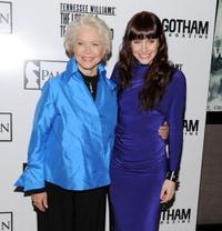 Ellen Burstyn and Bryce Dallas Howard at the premiere of