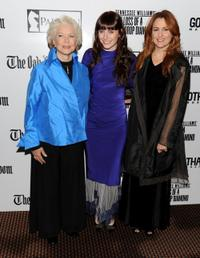Ellen Burstyn, Bryce Dallas Howard and Jodie Markell at the premiere of