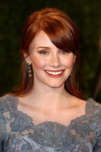 Bryce Dallas Howard at the 2009 Vanity Fair Oscar party.
