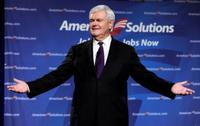 Newt Gingrich at the lauch of