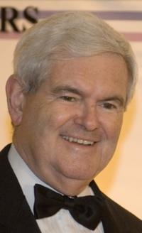 Newt Gingrich at the 32nd Kennedy Center Honors.