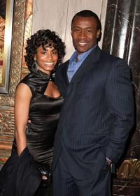 Sean Blakemore and Guest at the opening night of