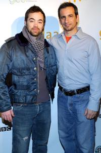 John Hensley and Neil Giuliano at the GLAAD Media Nominations Announcement at Side Bar during the 2007 Sundance Film Festival.