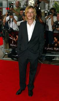 Mackenzie Crook at the European premiere of
