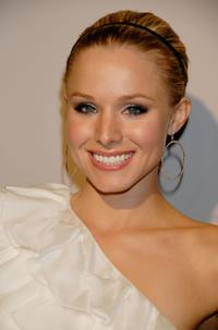 Kristen Bell at the Monique Lhuillier Salon opening in Los Angeles.
