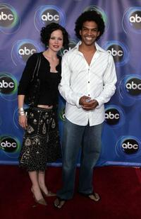 Khary Payton and Guest at the ABC TCA party.