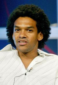 Khary Payton at the panel discussion of