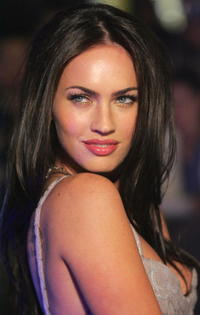 Actress Megan Fox at the special event celebrity screening of