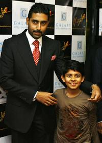 Abhishek Bachchan and Guest at the promotion of