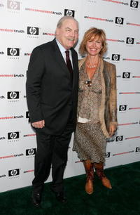 Stacy Keach and wife Malgosia Tomassi at the Los Angeles premiere of
