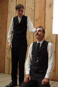 Paul Dano and Daniel Day-Lewis in
