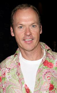 Michael Keaton at the 2005 Electronic Entertainment Expo (E3) party at Hollywood.